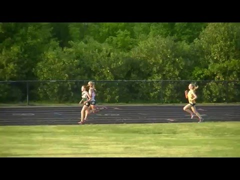 SMAC 2016 Track and Field Girls 3200m - last lap