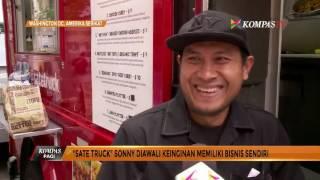 "Bisnis ""Sate Truck"" Kuliner Indonesia di Washington"