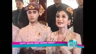 Happy Salma Pindah Keyakinan???