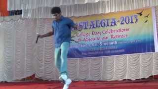 Newman College Day-idea Star singer fame Sreenath
