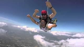 Vijay Agstya's skydive 2015.  vj.agstya