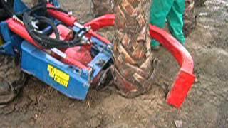 Máquina de extracción de palmeras - Viveros Palma Fruit
