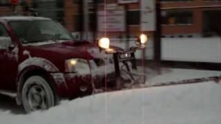 PickUp im Winterdienst 2009