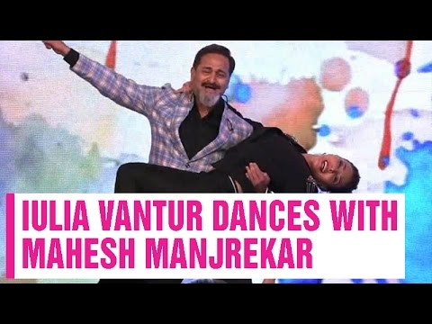 Xxx Mp4 HOT Salman Khan S Gf Iulia Vantur Dances With Mahesh Manjrekar 3gp Sex