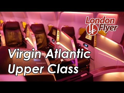 HD Virgin Atlantic New Upper Class London to Dubai A330 londonflyer
