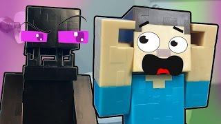 Enderwoman Pranks Steve / Minecraft in Real Life Pranks / Gamer Chad