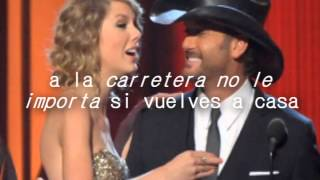 Highway Don't Care - Tim Mcgraw ft. Taylor Swift & Keith Urban. [Letra en español]