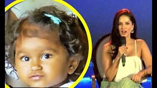 Sunny Leone CUTE INTERVIEW About Her Newly Adopted Daughter