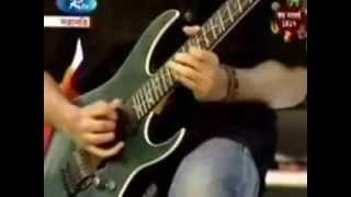 Shishir playing guitar