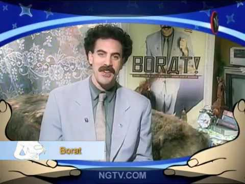BORAT loves Carrie Keagan Uncensored the first chapter
