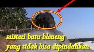 Misteri Batu Bleneng di Tol Cipali yang Tak Bisa Dipindahkan atau di hancur kan.