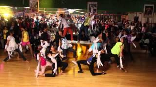 Shiamak Toronto Showkids dance to Pareshaan at Shiamak Dance Party 2013