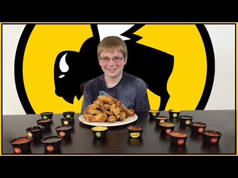 Xxx Mp4 12 Yr Old Eats 18 Hot Sauces From Buffalo Wild Wings Crude Brothers 3gp Sex