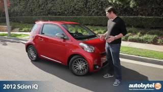 2012 Scion iQ Test Drive & Car Review