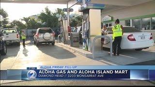 Aloha Friday Fill-up Location (April 28) - Diamond Head