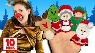 Christmas Finger Family, Jingle Bells & more Christmas Songs for Kids! Popular Christmas Songs