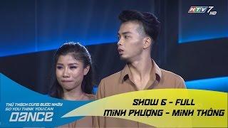 Mơ - Minh Phượng & Minh Thông // Đương đại - Show 6 - Thử Thách Cùng Bước Nhảy 2016