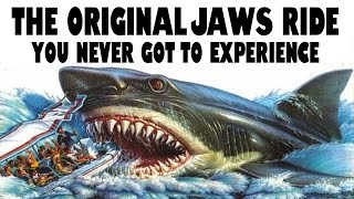 The Original Jaws Ride You Never Got To Experience