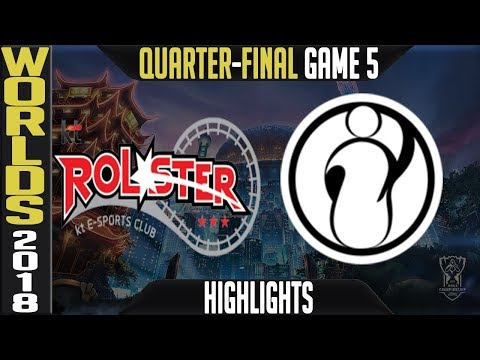Xxx Mp4 KT Vs IG Quarter Final Highlights Game 5 Worlds 2018 Quarter Final KT Rolster Vs Invictus Gaming 3gp Sex