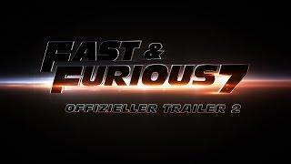 Fast & Furious 7 - Trailer #2 deutsch / german HD