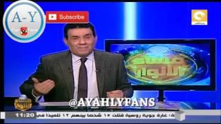 لأول مرة مدحت شلبي يطلق قذائفه علي مرتضي منصور و وائل الابراشي