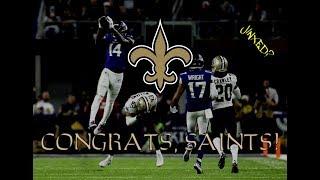 Congrats, Saints!