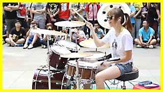 download free Amazing Girl Drummer Does BIGBANG - Fantastic Baby Street Performance | Koreaboo Stories