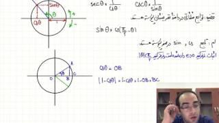 ریاضی عمومی ۱ - جلسه یازدهم - توابع مثلثاتی و بررسی پیوستگی آنها