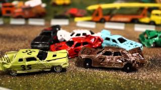 STOP MOTION Hot Wheels DEMO DERBY