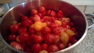 Tomatensaft schnell und einfach herstellen