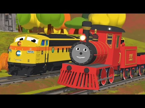 Learn Numbers, Shapes, Colors and More with Shawn the Train   All Short Cartoons with Shawn
