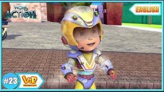 Vir The Robot Boy   Vir vs Dangerous seven part 2    English episodes for Kids