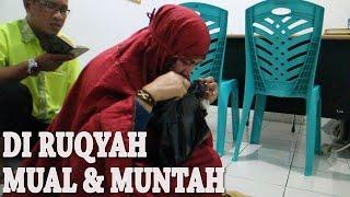 WANITA DI RUQYAH MUAL & MUNTAH