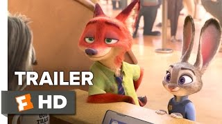 Zootopia Official Sloth Trailer (2016) - Disney Animated Movie HD