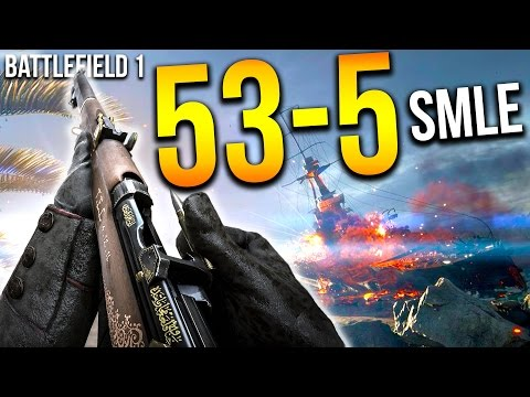 watch BATTLEFIELD 1 53 KILLS IN 10 MINS SMLE SNIPER   BF1 Scout Gameplay