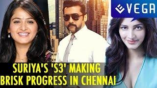 Suriya's 'S3' Making Brisk Progress in Chennai || Latest Tamil Film News & Gossips