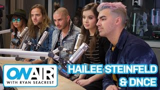 Hailee Steinfled & DNCE Talk
