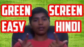How to Change Video Background Easily [HINDI] - Green Screen Tutorial