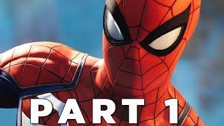 SPIDER-MAN PS4 Walkthrough Gameplay Part 1 - INTRO (Marvel's Spider-Man)