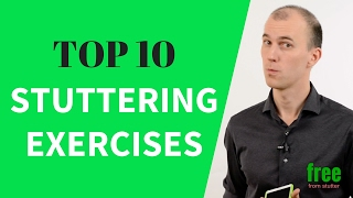 Top 10 exercises for stuttering