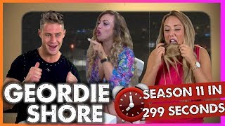 Geordie Shore Season 11 In 299 Seconds!! | MTV