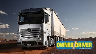 New Mercedes-Benz Actros | Review | Truck TV Australia