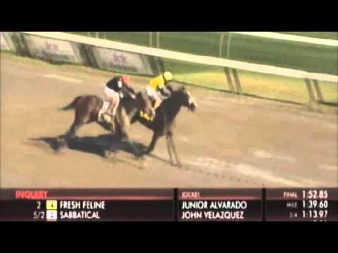Saratoga DQ: Race 9, 7-30-15