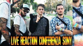 GABBO.ROHN.DREAD - Reaction in LIVE da L.A. alla Conferenza SONY [ OMG ]