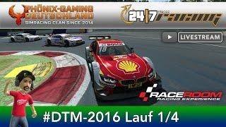Race Room - PGD Liga 1. Lauf   DTM 2016 RedBull Ring Spielberg (Deutsch)