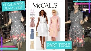 How To :: McCalls 6696 Sew-A-Long :: The Skirt and French Seamed Pockets :: Part 3
