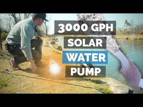 Solar Water Pumping 3000 Gallons Per Hour