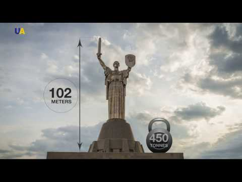 Xxx Mp4 Taking A Tour Of The Mother Motherland Statue In Kyiv 3gp Sex
