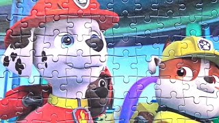 Paw Patrol Compilation 2016 New Puzzle Video for Kids