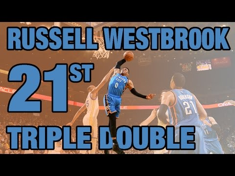 Westbrook Posts Triple Double #21 | 01.18.17
